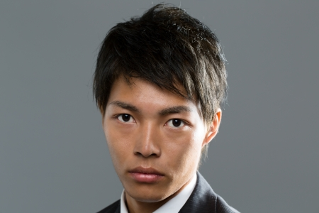 Young asian businessman photo