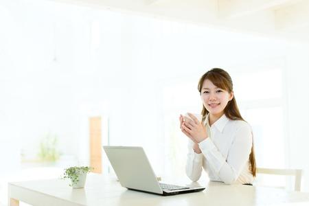 Beautiful asian businesswoman