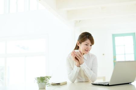 korean woman: Beautiful asian businesswoman