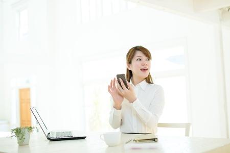 Beautiful asian businesswoman Stock Photo - 17160627