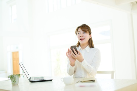 Beautiful asian businesswoman Stock Photo - 17160625