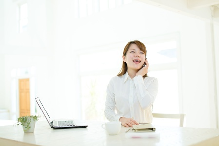 Beautiful asian businesswoman Stock Photo - 17160626