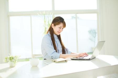 美しいアジアの女性実業家 写真素材