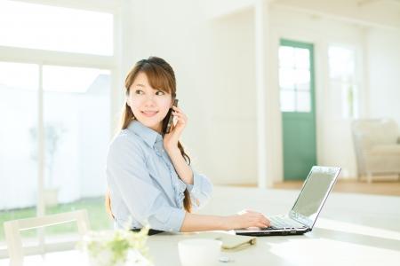 Schöne asiatische Geschäftsfrau Standard-Bild - 17166541