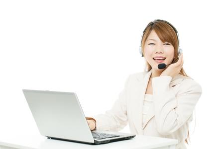 beauty center: Beautiful asian businesswoman
