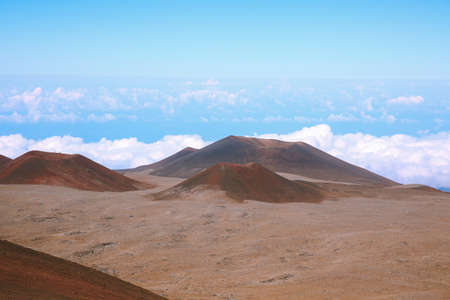 Mauna Kea, Dormant volcano on the island of Hawai Stockfoto