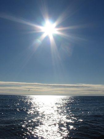 The Arctic sun