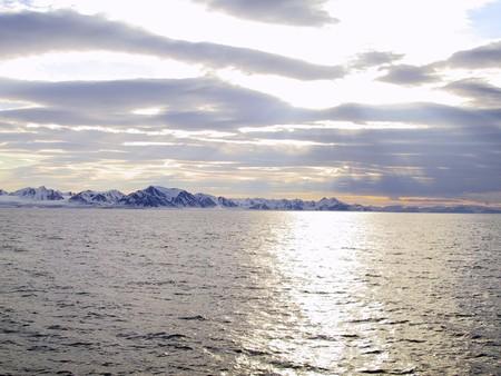 stone, rock, background, nature, water, sky, sea, sunset