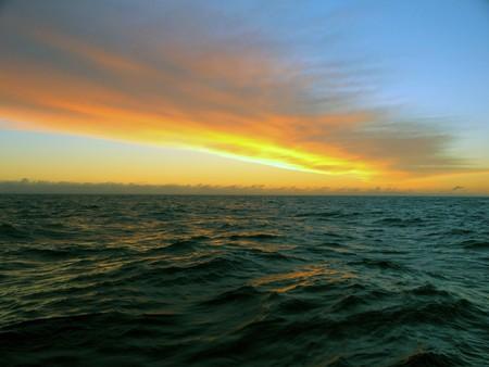 sunset, sun, water, nature, sky, sunrise, adventure,