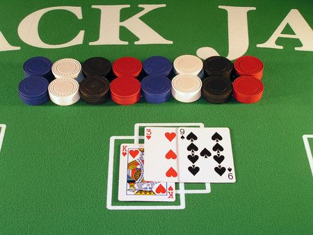 Busted, 1 over in a hand of black jack.