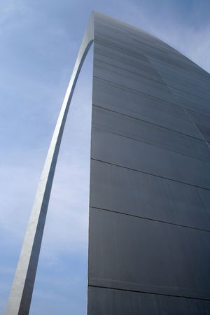 The Arch in St Louis a unique angle