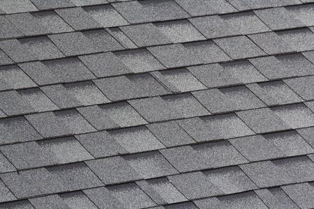 gris y negro tejas Foto de archivo