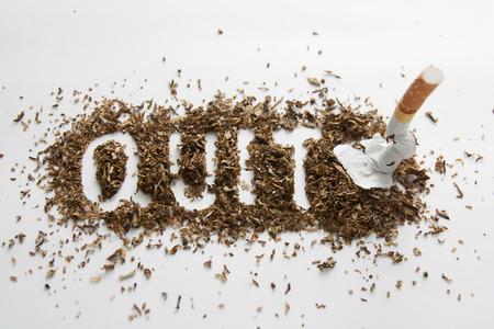 Deje de fumar  Foto de archivo