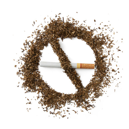 abstain: Quit smoking