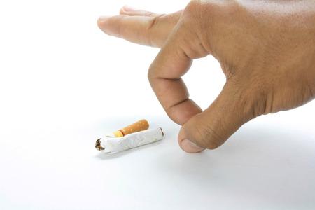 refrain: Removing the cigarette away