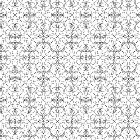 Orchid pattern. Vector illustration. Illustration