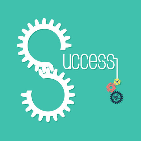 Creative business concept background. Solution and success.