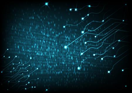 Vector Abstract futuristic circuit board . Hi-tech digital technology concept