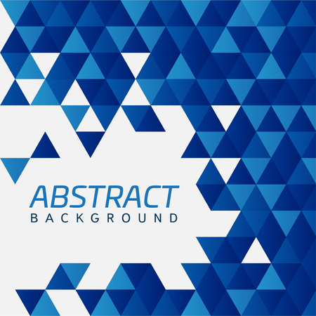 Abstract modern geometric shapes intersecting Illustration