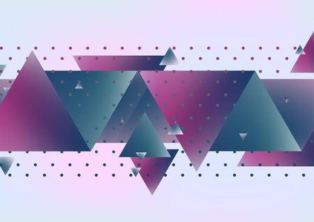 Abstract triangle minimalistic design  background.Vector design creative concept.