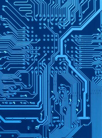 dunkel blau Circuit Board-Regelung mit Dirigenten und Lötanschlüssen