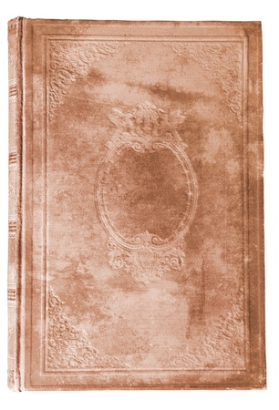 bejahrt braun Buch-Cover mit interessanten Textur isolated on white background