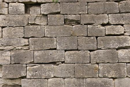 braunen Steinmauer aus alten Sandstein Steine Lizenzfreie Bilder