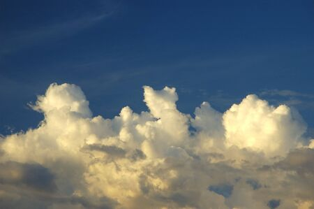 Bautiful blue sky with clouds background. Sky with clouds weather nature cloud blue