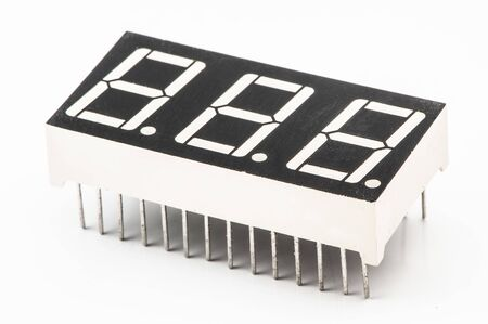 Set of components, LED indicator