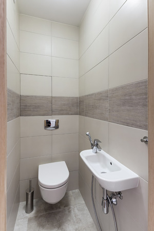 Interior of a new modern restroom Stock Photo - 91699020