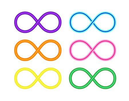 Infinity, eternity symbol. Premium quality vector illustration for your design.