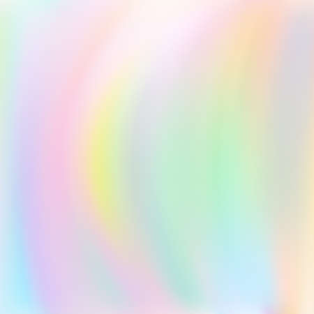 Fantasy princess background with magic rainbow and girlie wave. Premium vector.