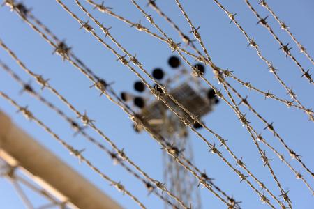 international monitoring: Border Stock Photo