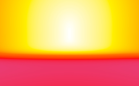 Colorful yellow, red abstract background. Illustration. Stock Photo