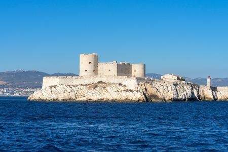 Sea castle, South of France, Castle on an Island