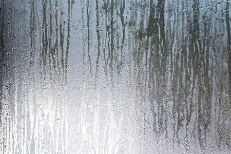 Window glass condensation high humidity