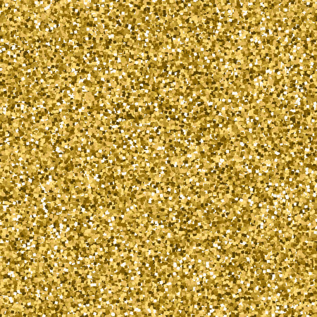 shimmer: Golden design element. Perfect gold glitter texture for your art work. Vector yellow metallic shimmer. Illustration