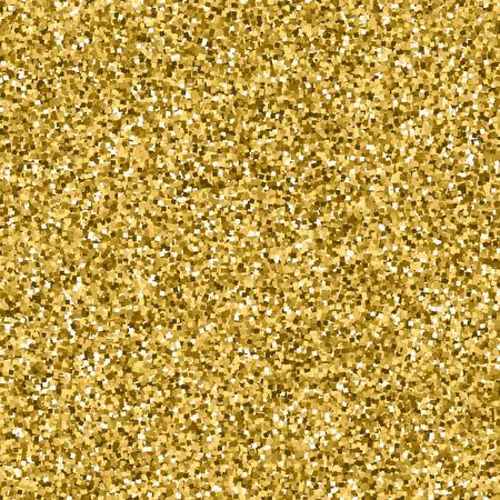 Golden design element. Perfect gold glitter texture for your art work. Vector yellow metallic shimmer. Illustration