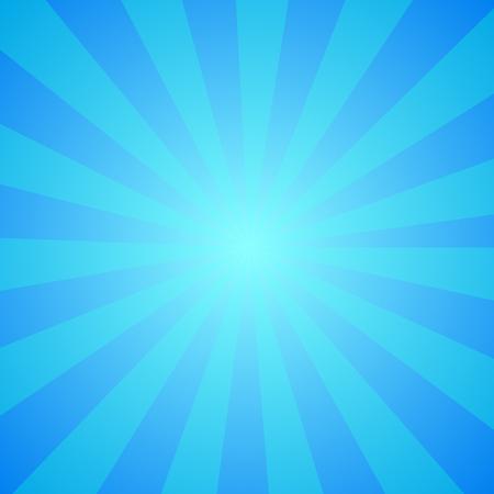 Helle abstrakte Cartoon-Hintergrund mit wiederholten Streifen um das Zentrum Nachahmen Whirlpool. Retro Zirkuszelt Tapete. Perfekte sonnigen Entwurf mit vibrierenden Farben für Comics, Partyplakaten.