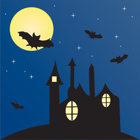 halloween illustration Stock Vector - 3411111