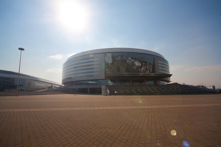 The Minsk-Arena hockey complex, Belarus