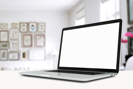 mock up devices in interior. 3d rendering, 3d illustration Banque d'images - 95538318