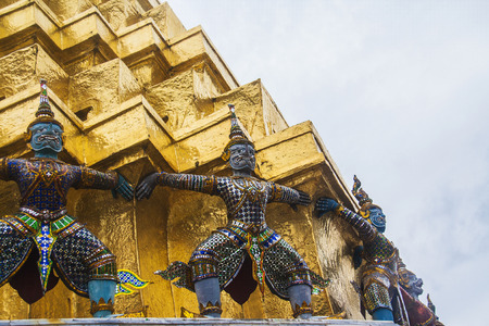 The Emerald Boeddha beeld