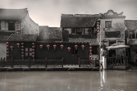 De oude stad Stockfoto