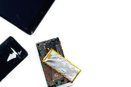 Broken tablet and phones needing to be repaired