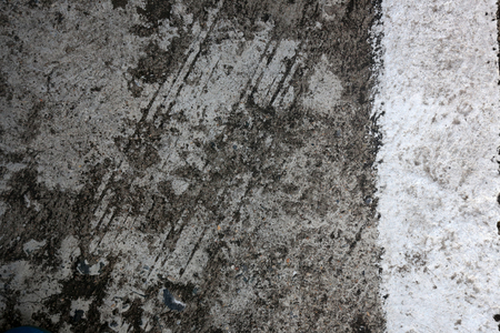 Photo With Top View Of Cement Floor For Background Stock