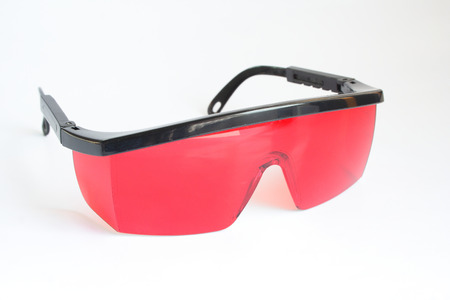 safety: Safety glasses