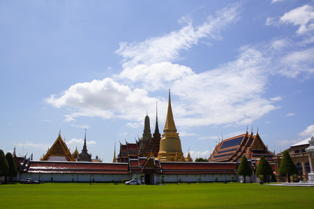 artictic: Temple of the emerald buddha, Bangkok, Thailand (Wat Prakaew)