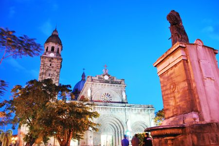 Manila Cathedral 版權商用圖片