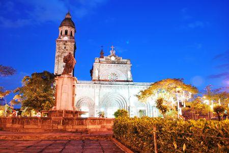 Manila Cathedral Stock Photo